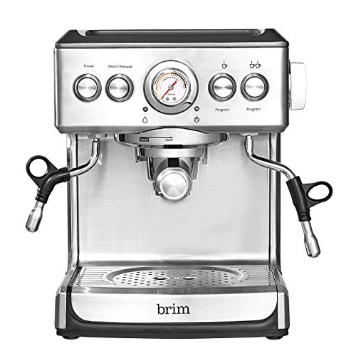 Brim 19 Bar Espresso Machine, Fast Heating Cappuccino,...