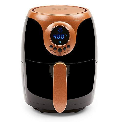 Copper Chef 2 QT Air Fryer - Turbo Cyclonic Airfryer With...