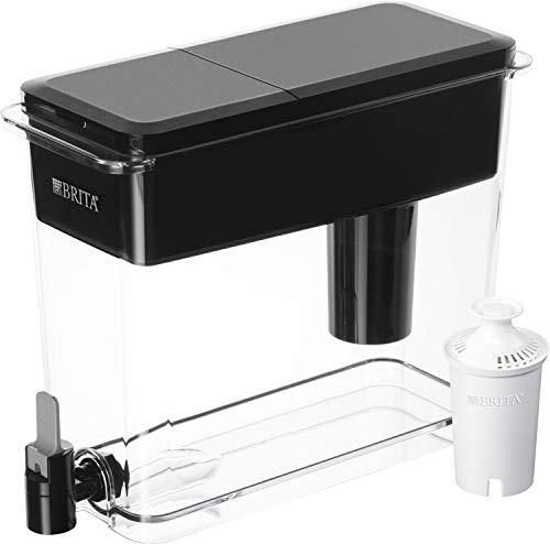 Brita Standard UltraMax Water Filter Dispenser, Black, Extra...