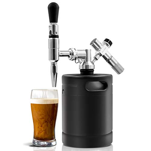 Nitro Cold Brew Coffee Maker - 64Oz Stainless Steel Home...