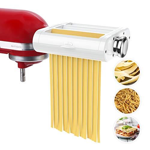 ANTREE Pasta Maker Attachment 3 in 1 Set for KitchenAid...