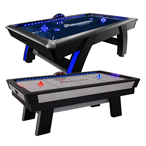 Atomic Top Shelf 7.5' Air Hockey Table with 120V Motor for...