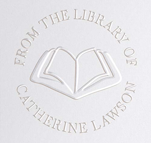 Library Book Embosser Seal Stamp Personalized Customized 1 x...