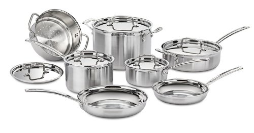 Cuisinart MCP-12N Multiclad Pro Stainless Steel 12-Piece...