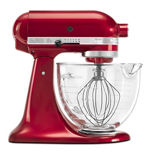KitchenAid KSM155GBCA 5-Qt. Artisan Design Series with Glass...