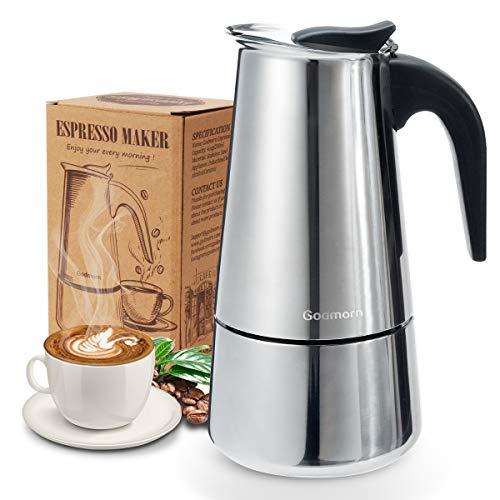 Godmorn Stovetop Espresso Maker, Moka Pot, Percolator...