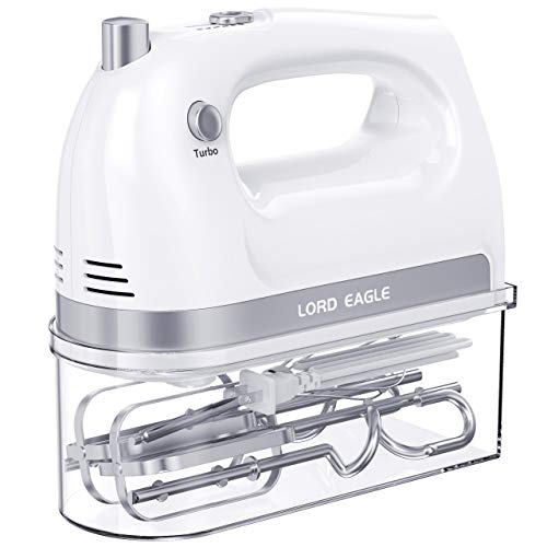 Lord Eagle Hand Mixer Electric, 400W Power handheld Mixer...