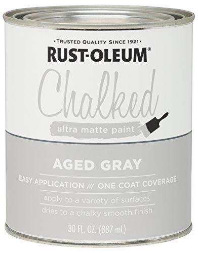 Rust-Oleum, Aged Gray 285143 Ultra Matte Interior Chalked...