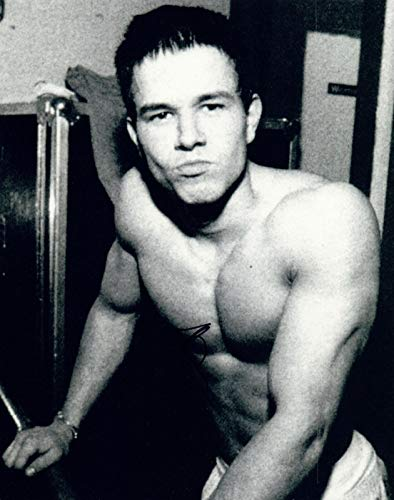 Mark Wahlberg Signed Autographed 8x10 Photo Calvin Klein...