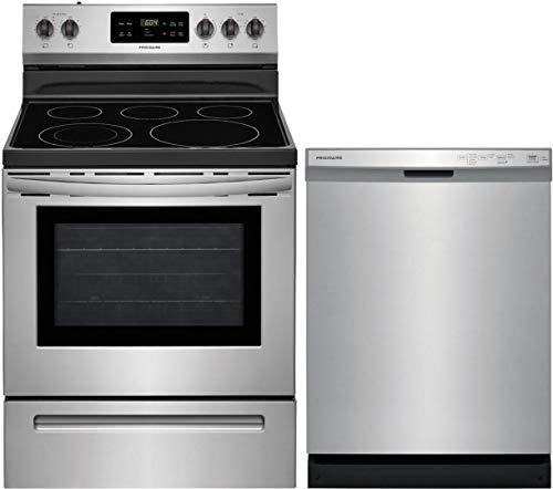 Frigidaire 2 Piece Kitchen Appliances Package with...
