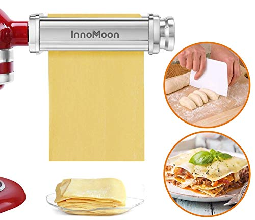 Pasta Roller Attachment for KitchenAid Stand Mixers,...