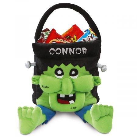 Frankie Personalized Halloween Treat Bag – Large Trick or...