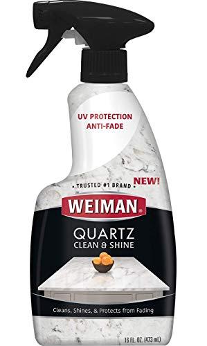 Weiman Quartz Countertop Cleaner and Polish - Clean & Shine...