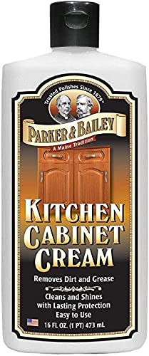 Parker and Bailey Kitchen Cabinet Cream-Wood Cleaner-Grease...