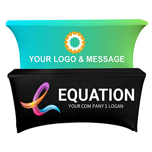 Personalized Add Your Own Logo Custom Stretch Spandex Table...