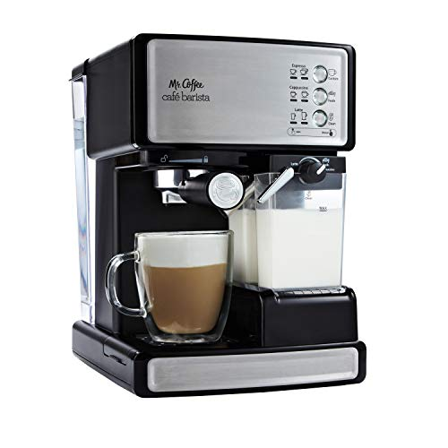 Mr. Coffee Espresso and Cappuccino Maker | Café Barista ,...