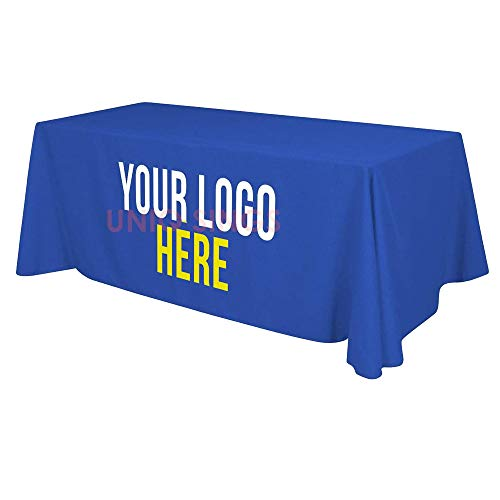 UNIQ SIGNS Personalized Add Your Own Logo Custom Tablecloth...