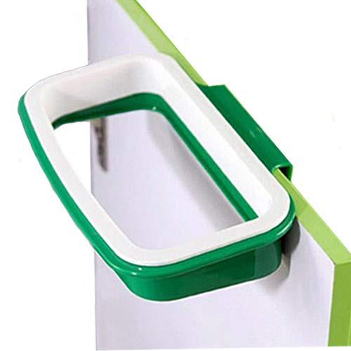 Pack of 2 Portable Trash Bag Holder Hanging Kitchen Cupboard...
