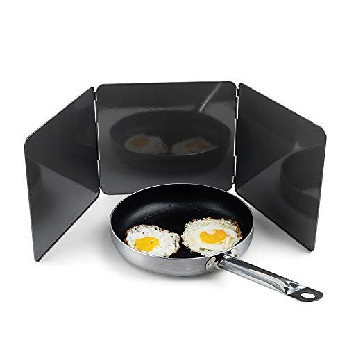 Fox Run Non-Stick 3 Sided Splatter Guard for Stove Top and...