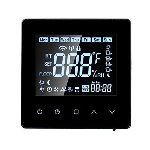 Smart Thermostat, alexa Thermostats for home, LCD...