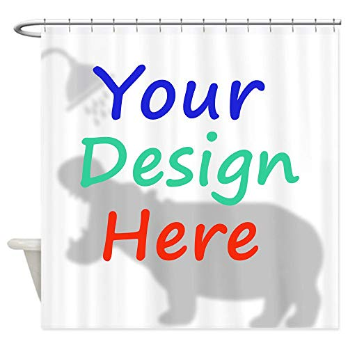 Samantha Custom Shower Curtain, Custom Curtain, Personalized...