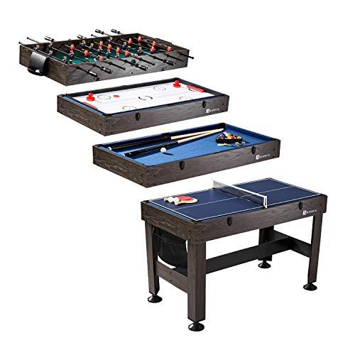 MD Sports Table Tennis, Slide Hockey, Foosball, Billiards,...