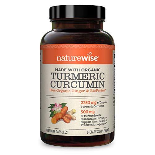 NatureWise Curcumin Turmeric 2250mg (2 Month Supply) 95...