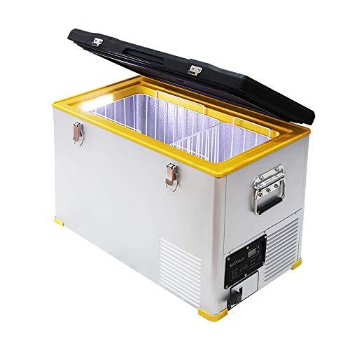 SetPower 47-Quart Chest Freezer, 0℉-50℉, DC 12/24V, AC...