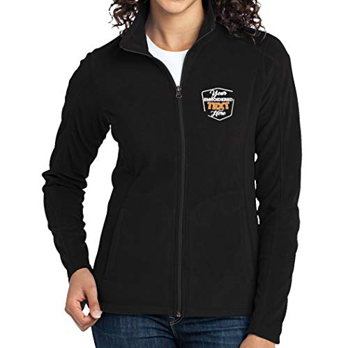 Women Personalized Embroidered Fleece Jacket for Ladies...