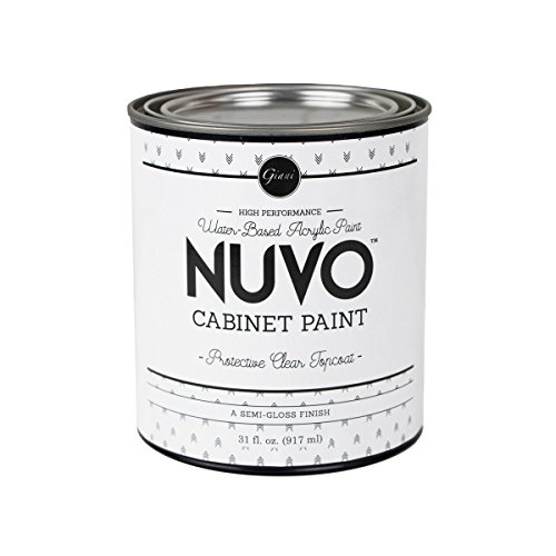 Nuvo Cabinet Paint Topcoat, 31 Fl. Oz, Quart, 31 Fl Oz
