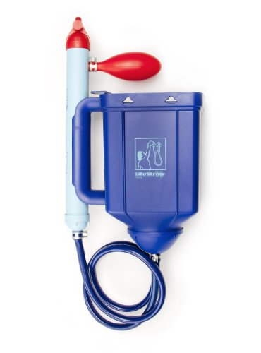 LifeStraw Family 1.0 Portable Gravity Powered Water Purifier...