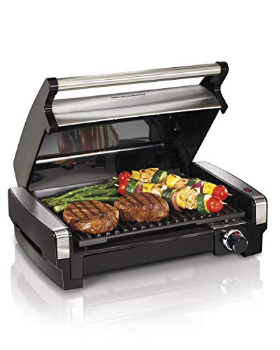 Hamilton Beach Electric Indoor Searing Grill Removable...