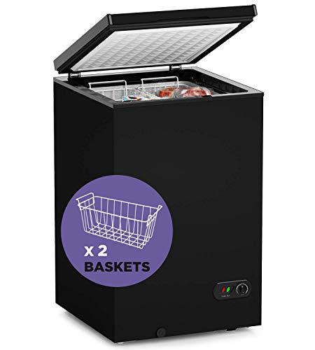 ADT Chest Freezer Free-Standing Top Door Freezers 6.8℉ to...