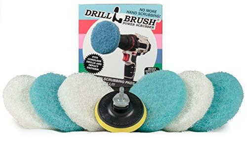 Drill Brush - Kitchen Accessories - Scrub Pads - Shower...