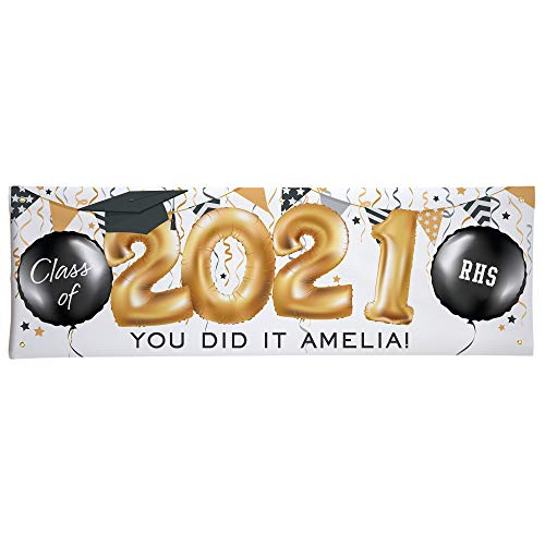 Let's Make Memories Personalized Up and Away Graduation...