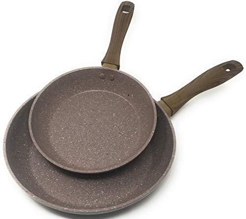 Frying Pan by OLINDA - Skillet Set - PREMIUM NON STICK...