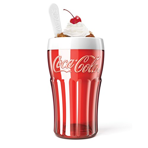 Zoku Coca-Cola Float & Slushy Maker, Retro Make and Serve...