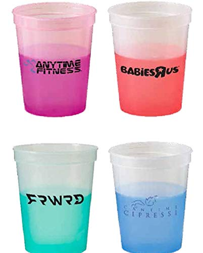 250 USA Made Personalized Color Changing Stadium Cup Printed...