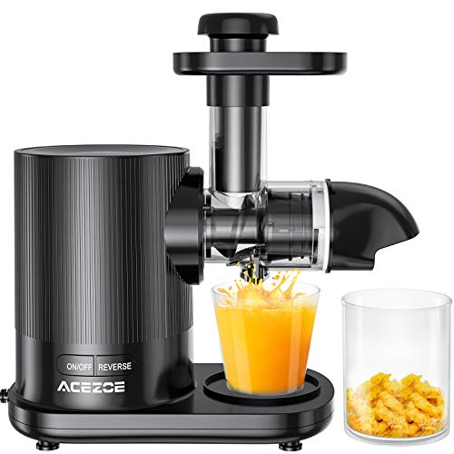Juicer Machines, Acezoe Slow Masticating Juicer Extractor...