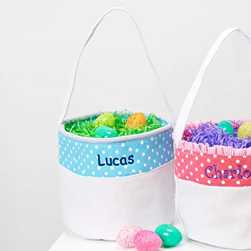 Personalized Soft and Light Easter Basket (Blue)