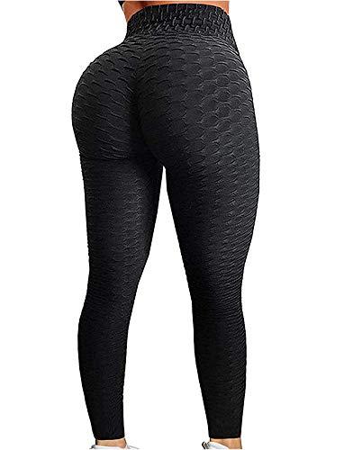 SEASUM Women's High Waist Yoga Pants Tummy Control Slimming...