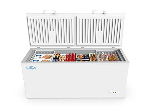 KoolMore Deep Chest Freezer with Two Wire Basket, 20 cu. ft....
