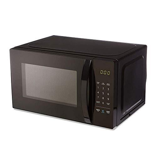 Amazon Basics Microwave, Small, 0.7 Cu. Ft, 700W, Works with...