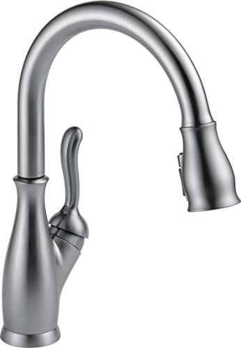 Delta Faucet Leland Pull Down Kitchen Faucet with Pull Down...