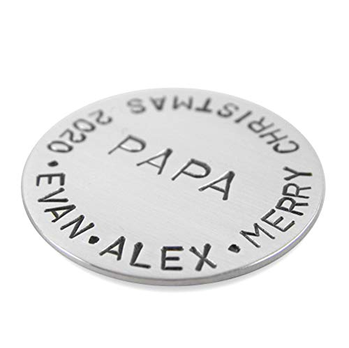Custom Golf Ball Marker - Personalized with Your Special...