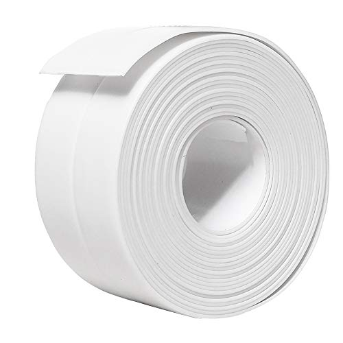 TYLife Caulk Tape Strip,PVC Self Adhesive Kitchen...