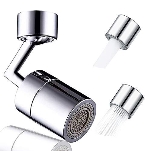 Universal Splash Faucet Aerator 720° Rotatable Soild Brass...