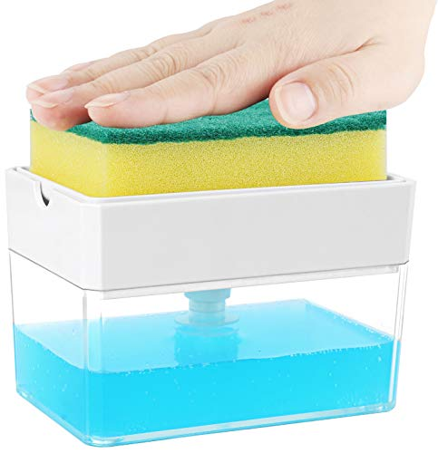 Dish Soap Dispenser for Kitchen, Innovative Soap Dispenser...