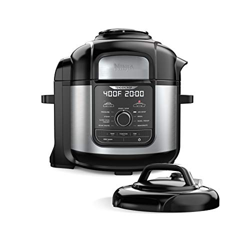 Ninja FD401 Foodi 8-Quart 9-in-1 Deluxe XL Pressure Cooker,...