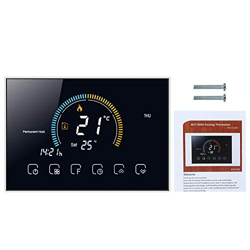 Galapara Thermostat,95-240V programmable Thermostat 5+1+1...